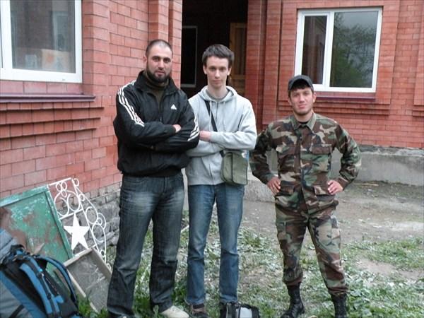 С сотрудниками МВД ЧР в Итум-Кале