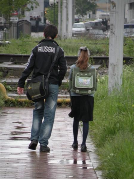 Грозненские школьники
