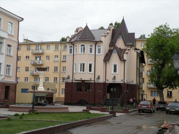 Отремонтированный центр Грозного