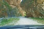 Горное ущелье