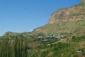Горное дагестанское село Аракани