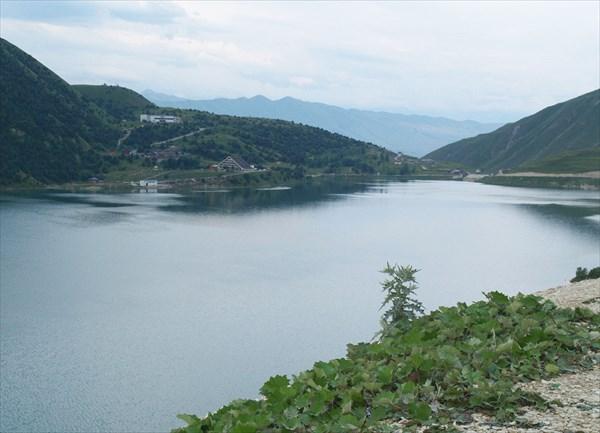 Прощальный взгляд на озеро