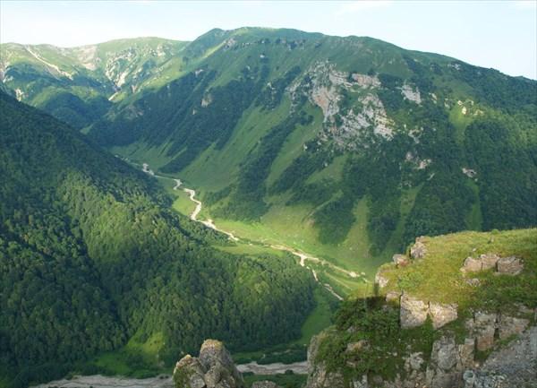Чеченские горы