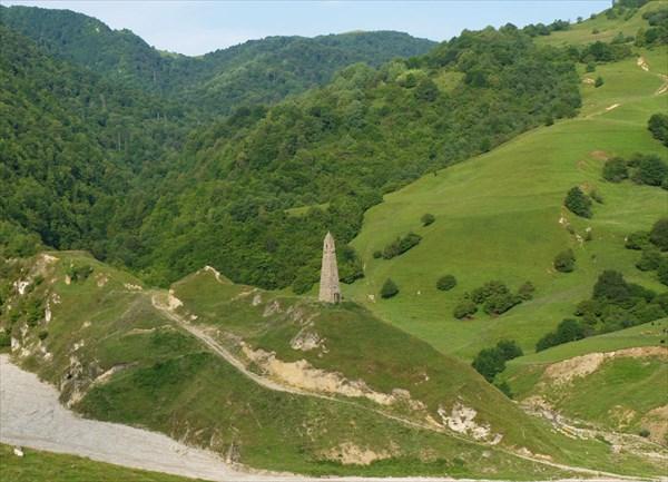 Чеченская сторожевая башня