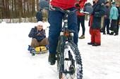 Соревнования на веловатрушках