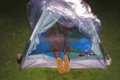без сменки в палатку вход запрещен!