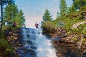 15 Старокамарские водопады