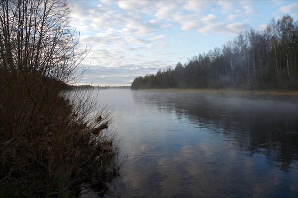 Волга недалеко от впадения Итомли