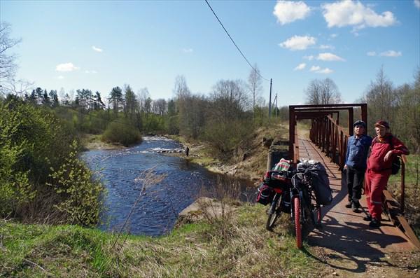У моста через Итомлю