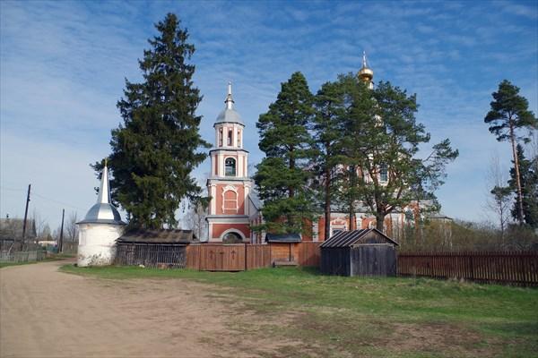 Верхние Котицы, Церковь Казанской иконы Божией Матери