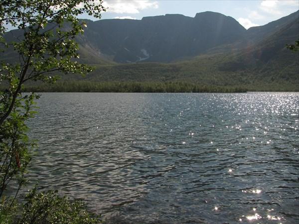 Озеро Мал.Вудъявр