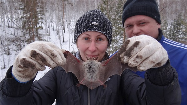 Ольга с мышкой