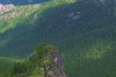 Ергаки. пер. Спящий Саян. Вид на г.  Каменный Замок