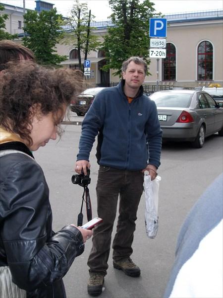 Литовский спелеолог Айдас Гудайтис. Он нам очень здорово помог.