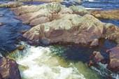16 вид на мини-водопад до входа
