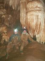 Прохождение пещеры Тут-Куш, 2Б . (c) Казанин, Жданов