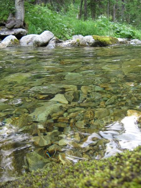 Чистейшая вода Жигалана.