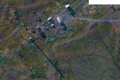 Снимок. 1. Космический снимок с Google Maps: Маяк на м. Немецком