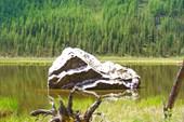 Красивый `каменюка` на Шавле