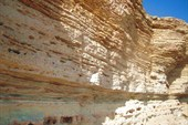 Тарханкут, известняк, меловой период, основа - базальтовая плита