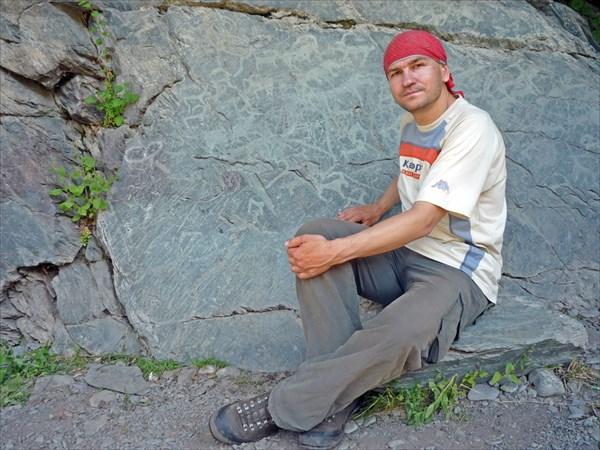 Скала петроглифов