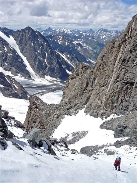 Подъем на перевал Рериха