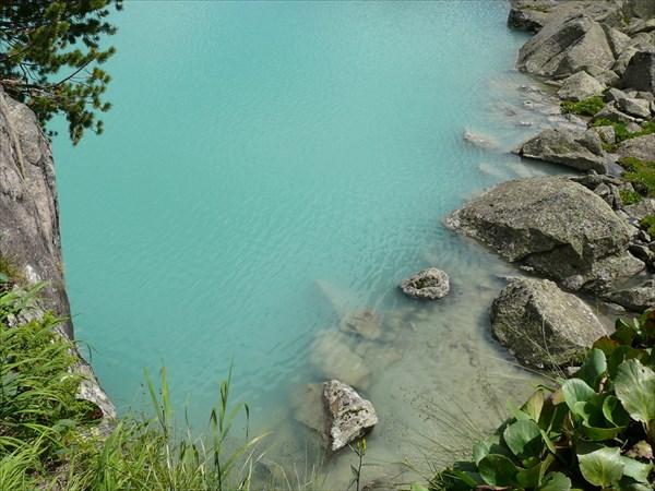 Изумрудная гладь озера Дорошколь