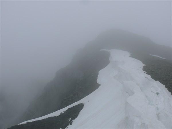 Седловина перевала Караойбок.