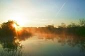 Утро 9 мая 2013 года. Река Рессета.