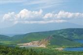 Кунашир.Кальдера вулкана Головнина.2 озера-Горячее и Кипящее
