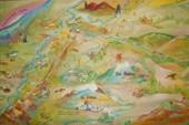 Карта в розе ветров