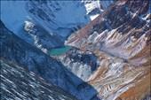 Безымянное озеро под вершиной Талдуайр с подъема на Сайлюгем