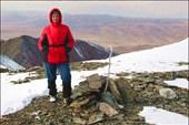 На вершине Талдуайр 3505 м. Хребет Чихачева