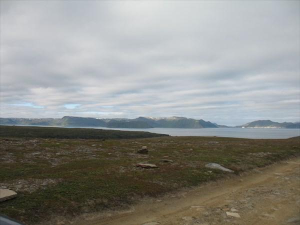 Вид на остров Магерьёя