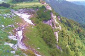 Скалы над п. Гузерипль