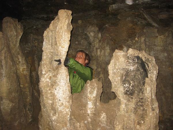 В Юрьевской пещере