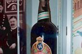 Старый дизайн пива `Карлсберг` :)