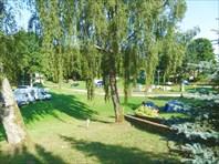 Кемпинг на Тракайском озере.
