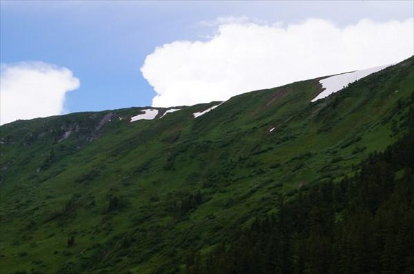 Южный склон Канского белогорья
