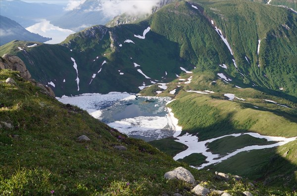 Озеро 1620,7 м.