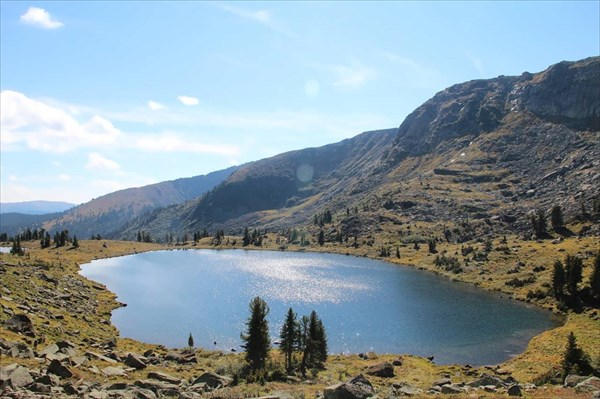 Озеро Мраморное