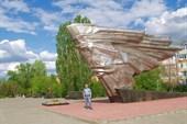 Ахтубинск. Памятник в честь погибших летчиков-испытателей