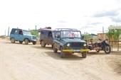 Принудительные `такси` для доставки туристов на берег озера