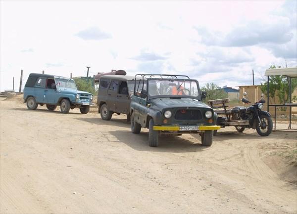 """Принудительные """"такси"""" для доставки туристов на берег озера"""