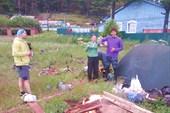 Первая ночёвка на Байкале в Листвянке