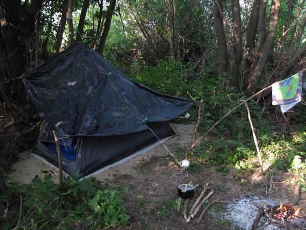 Местечко для палатки