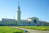 Ж/д вокзал в Волхове