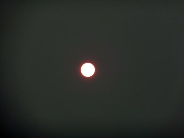 Вот такое вот солнце