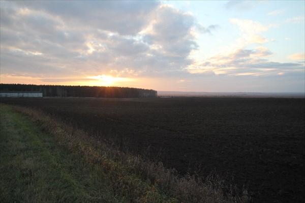 Закат в Подмосковье