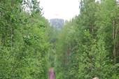 Вид на Секирную гору с северной стороны